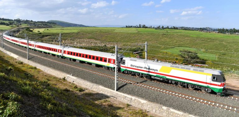 Foundation Capital | Ethiopian train on the Addis Ababa-Djibouti Railway