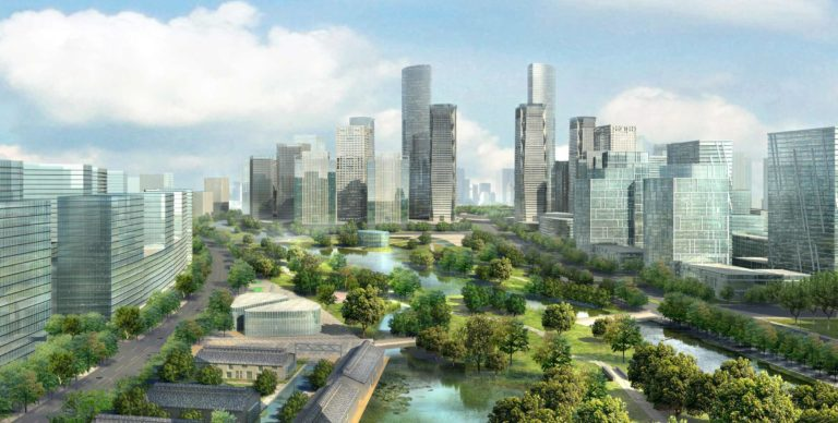Foundation Capital | Visualization of green city landscape in China