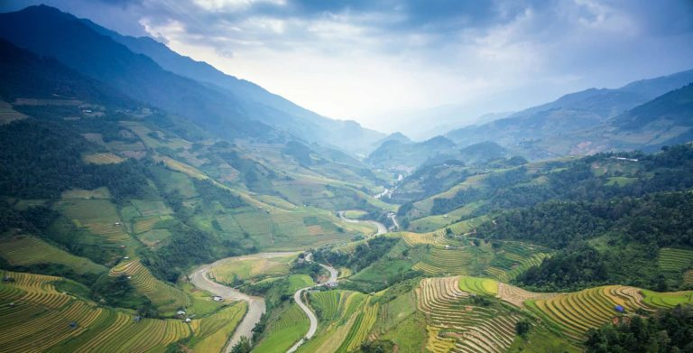 Foundation Capital | Green mountain landscape in China