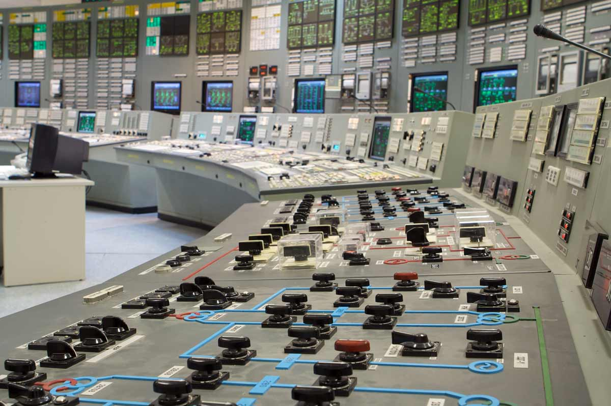 Foundation Capital | Nuclear power plant control room