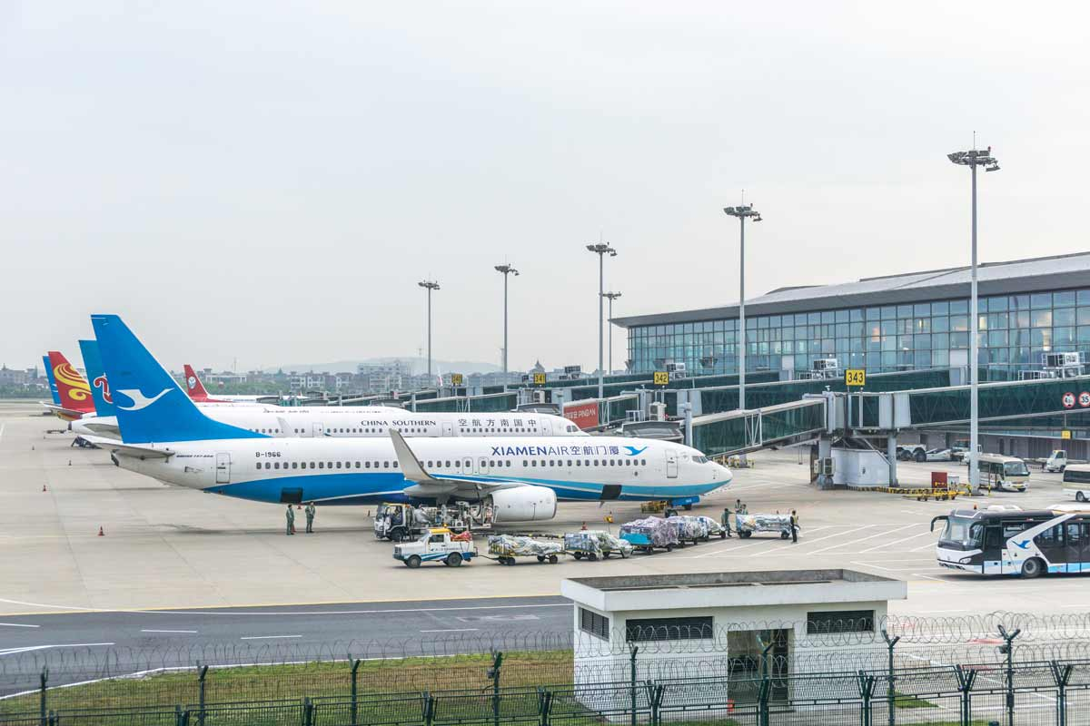 Foundation Capital | Planes at bay in Hangzhou Airport