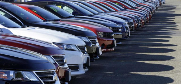 Foundation Capital | New cars in dealership lot