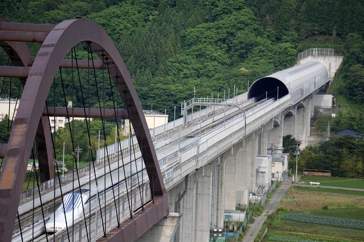 Foundation Capital | High speed maglev train tunnel on the Yamanashi test line, Japan